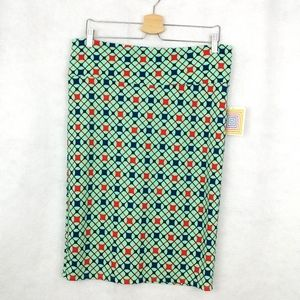 LuLaRoe NEW Geometric Cassie Skirt Size XL